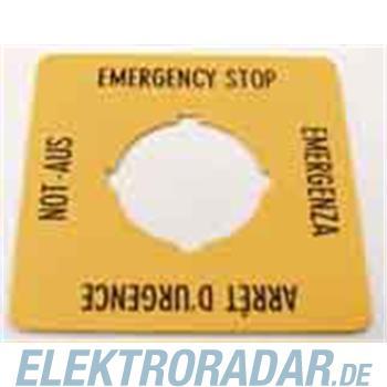 Eaton NOT-AUS-Schild M22-XYK1