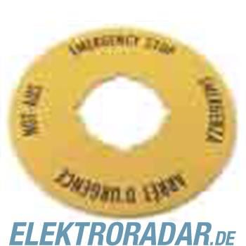 Eaton NOT-AUS-Schild M22-XAK