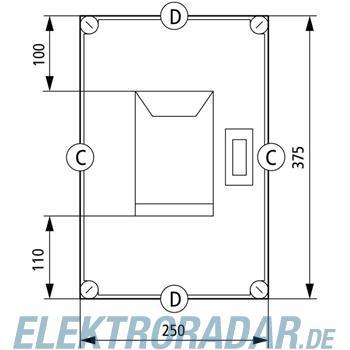 Eaton NH-Sicherungskasten GSTA00/I43E-G