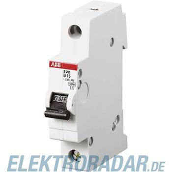 ABB Stotz S&J Sicherungsautomat S 201 M-B 16