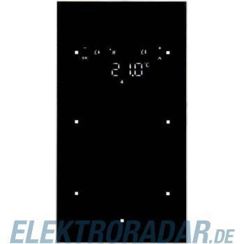 Berker Glas-Sensor 2fach mit Raum 75642135