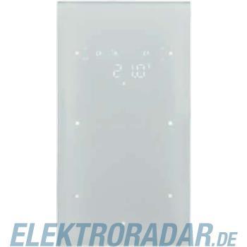 Berker Glas-Sensor 2fach mit Raum 75642139