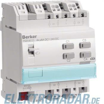 Berker KNX Jalousieaktor 4-fach 75314111
