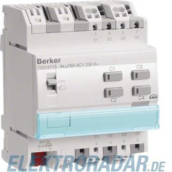 Berker KNX Schalt-/Jalousieaktor 75314115