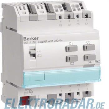 Berker KNX Schalt-/Jalousieaktor 75314116
