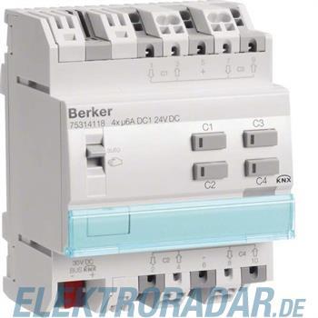 Berker KNX Rolladenaktor 4-fach 75314118