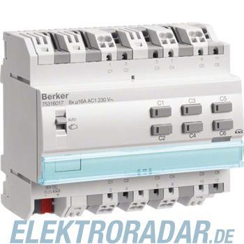Berker KNX Schaltaktor 6-fach 75316017
