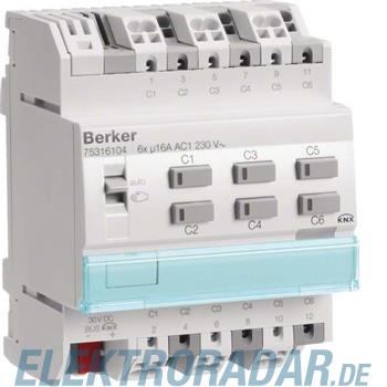 Berker KNX Schalt-/Jalousieaktor 75316104