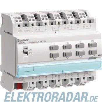 Berker KNX Rollladenaktor 8-fach 75318107
