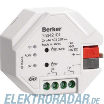 Berker KNX Schaltaktor 2-fach 75342101