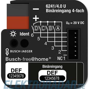 Busch-Jaeger Binäreingang 4-fach 6241/4.0 U