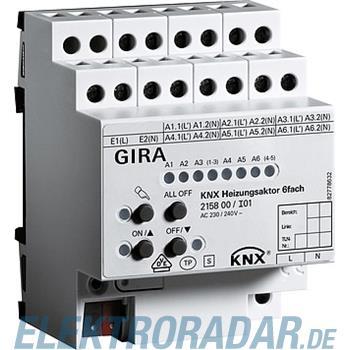 Gira KNX Heizungsaktor 6fach 215800
