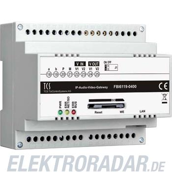 TCS Tür Control Audio-Video IP-Gateway FBI6119-0400
