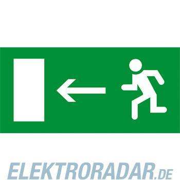 """Legrand 660865 """"Piktogramm """"""""Fluchtweg links"""""""" selbstklebend Brei"""