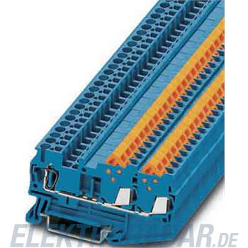 Phoenix Contact Durchgangsklemme, blau QTCS 1,5-TWIN BU