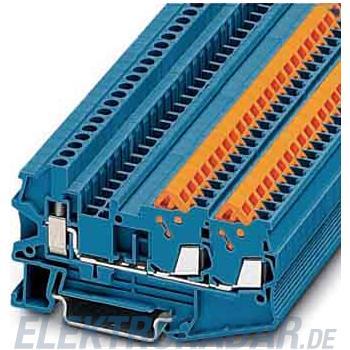 Phoenix Contact Durchgangsklemme, blau QTCU 1,5-TWIN BU