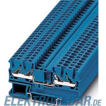 Phoenix Contact Durchgangsklemme, blau DT 2,5-QUATTRO BU