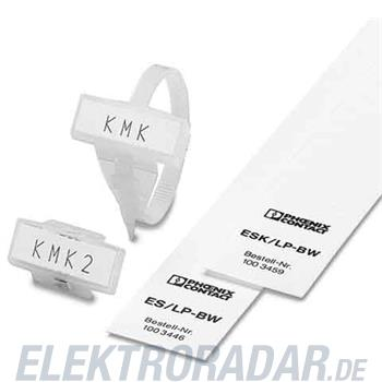 Phoenix Contact Kabelmarker KMK+ES/LP-BW