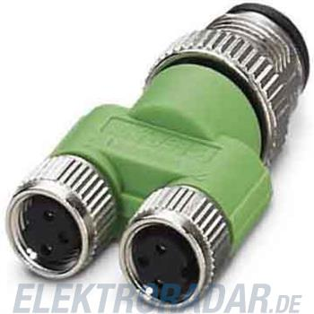 Phoenix Contact Y-Verteiler/Verbinder SAC-3P-M12Y/2XM 8FS