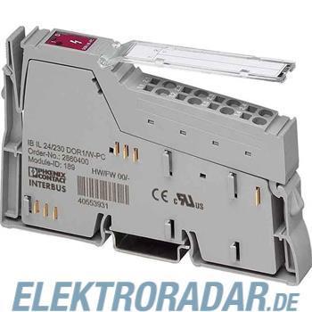 Phoenix Contact Inline-Ausgabeklemme IBIL24/230DOR1/W-PAC
