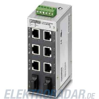 Phoenix Contact Gigabit Ethernet Switch FLSWITCHSFN6GT2LX20