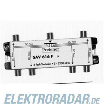 Preisner Televes Verteiler 6f. SAV 616 F
