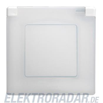 Legrand 665000 Niloe IP44 Rahmen 1-fach IK07 ultraweiß