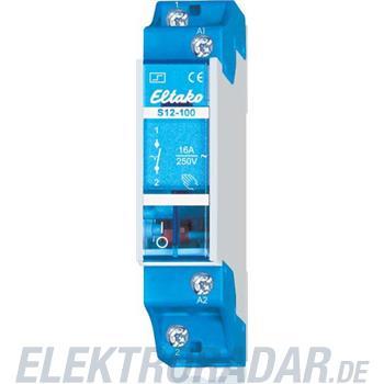 Eltako Stromstoßschalter f.Reihe. S12-100-220V DC