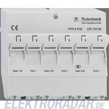Rutenbeck PoE-Patchpanel PPR 6 PoE