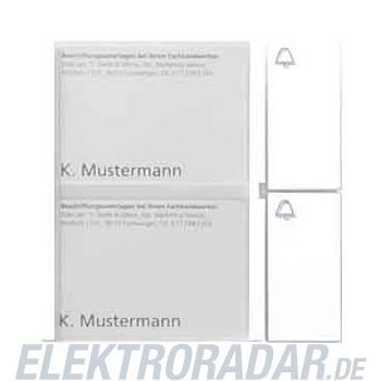 Siedle&Söhne Tasten-Modul TM 612-2 W