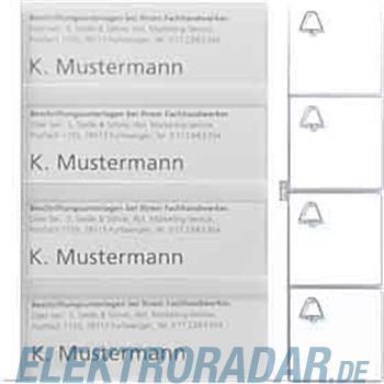 Siedle&Söhne Tasten-Modul TM 612-4 W