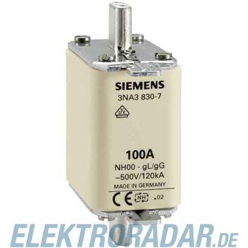 Siemens NH-Sicherungseinsatz GL/GG 3NA3830-7