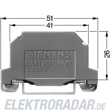 Siemens PE-Klemme 8WA1011-1PF01