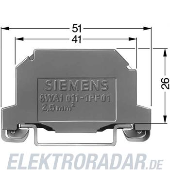 Siemens DOPPELSTOCKKLEM. THERMOPLA 8WA1011-6EG25