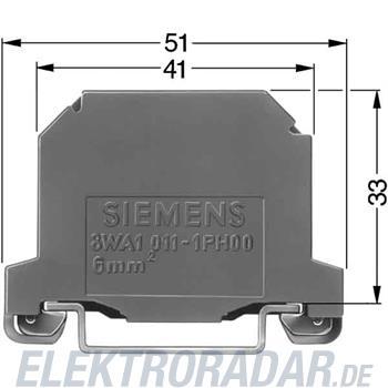 Siemens PE-Klemme 8WA1011-1PH00