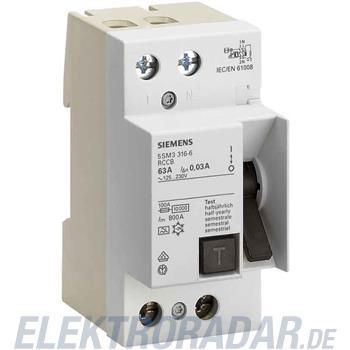 Siemens FI-Schutzschalter 5SM3412-6