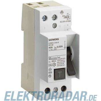 Siemens FI-Schutzschalter 5SM3414-6