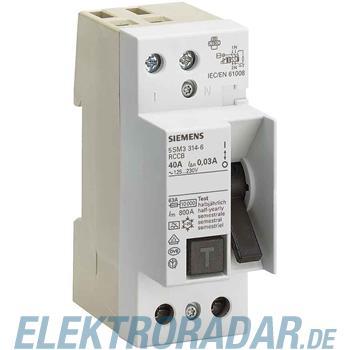 Siemens FI-Schutzschalter 5SM3614-6