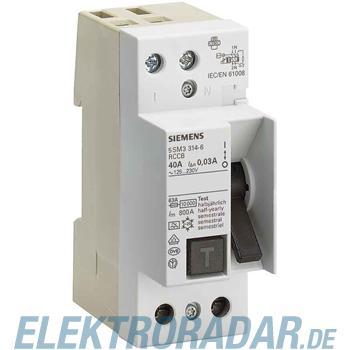 Siemens FI-Schutzschalter 5SM3416-6