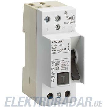 Siemens FI-Schutzschalter 5SM3356-6