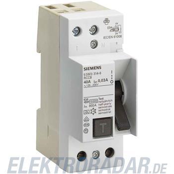 Siemens FI-Schutzschalter 5SM3654-6