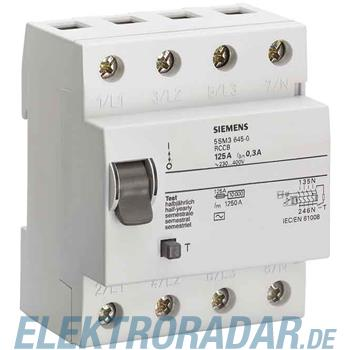 Siemens FI-Schutzschalter 5SM3445-6