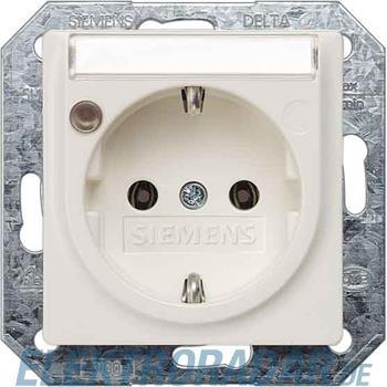 Siemens Schuko-Dose m.Schriftfeld 5UB1561