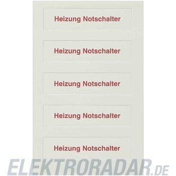 Siemens Piktogrammbogen f.Wippe 5TG1316