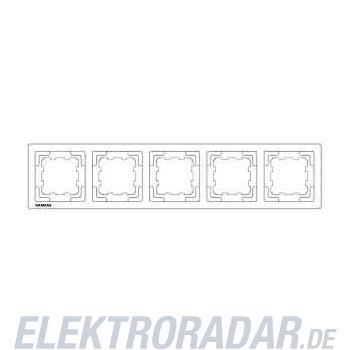 Siemens Rahmen 5fach 5TG1365