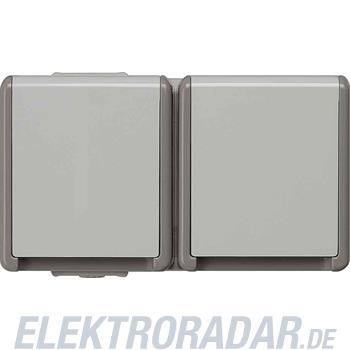 Siemens Schuko-Dose 2f.w Klappd.AP 5UB4722