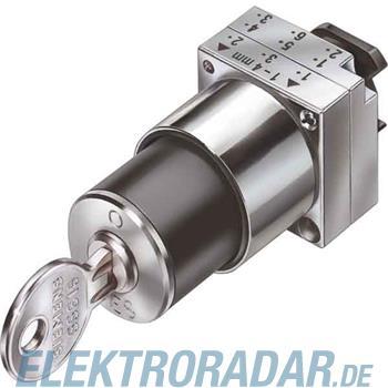 Siemens Schlüsselschalter 3SB3500-4LF11