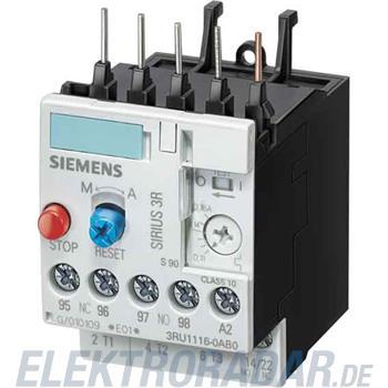 Siemens Überlastrelais 3RU1116-0JB1