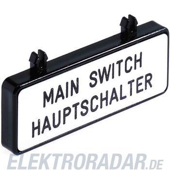 Siemens Zusatzschild 3LD9286-1A