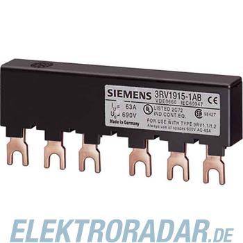 Siemens Sammelschiene 3ph. 3RV1915-2AB